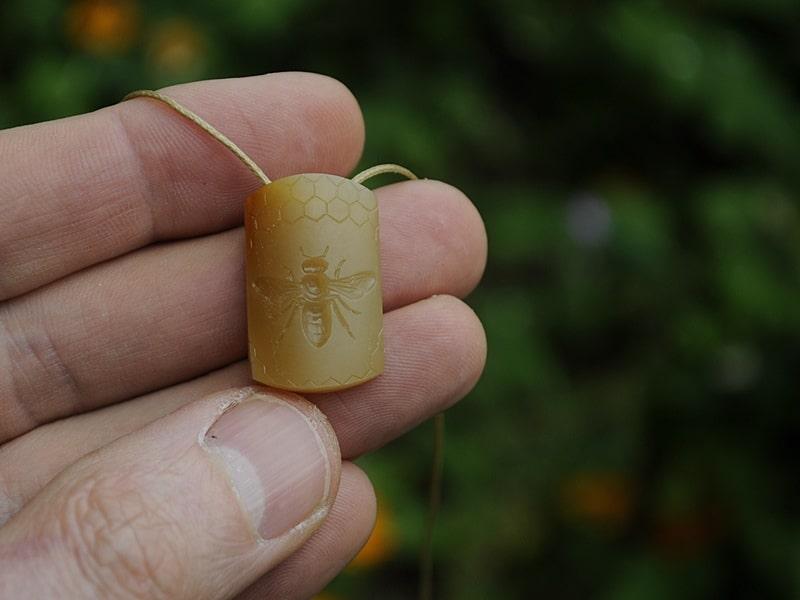 carnelian honey bee