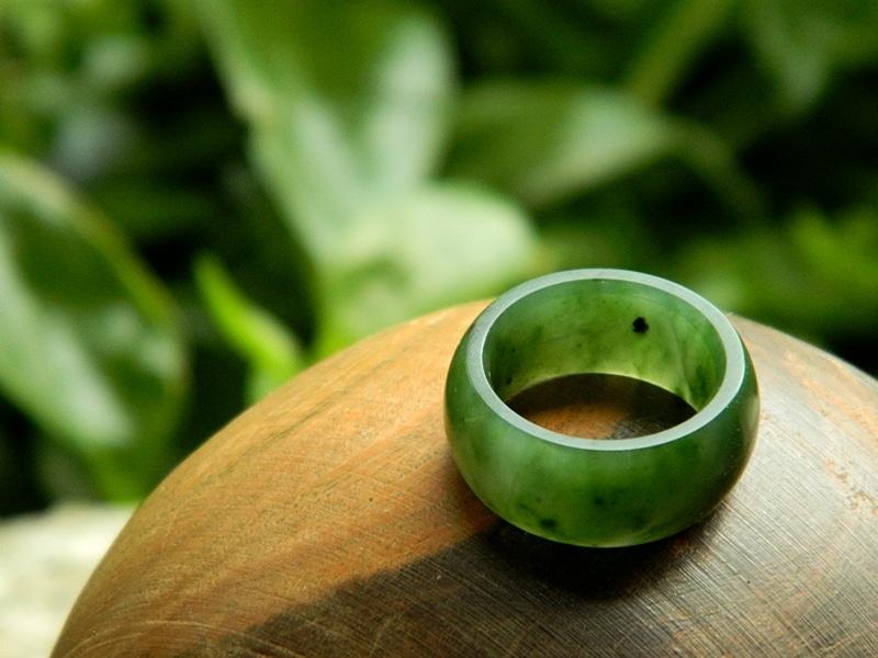 Yukon jade ring