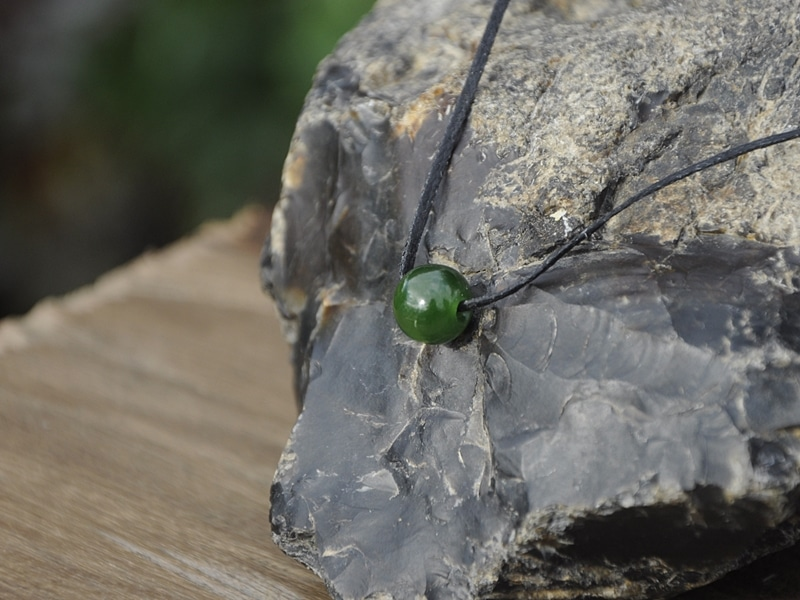 pounamu / greenstonebead