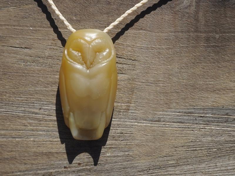 carnelian barn owl