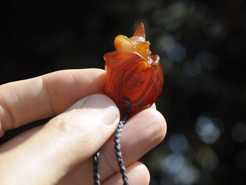 carnelian pekapeka bat